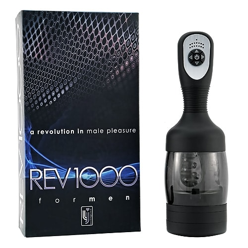 REV1000 Rotating Male Vibrators