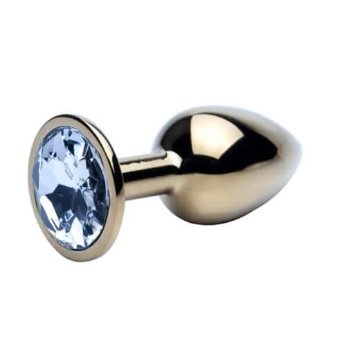 Precious Metals Jewelled Butt Plug
