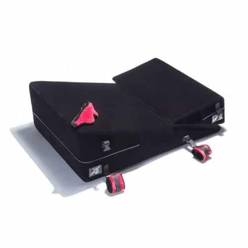 Liberator Black Label Wedge Sex Ramp Combo with Cuffs