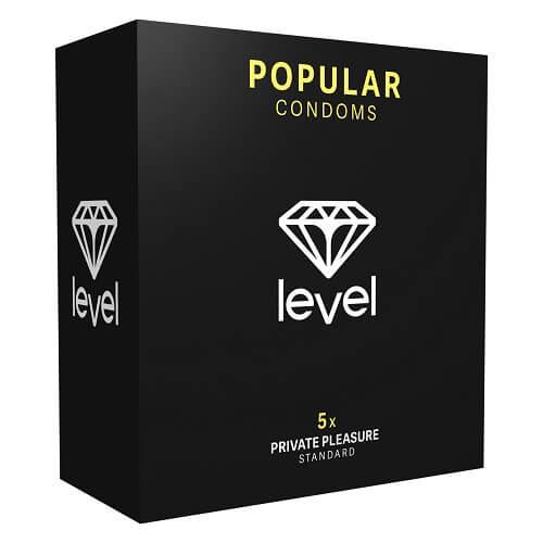 N11327 Level Popular Condoms 5pack 1