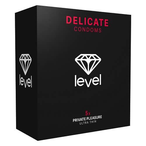 N11330 Level Delicate Condoms 5pack 1
